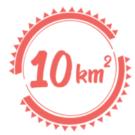 10 km2 - site réalisé dans le cadre du formation WordPress