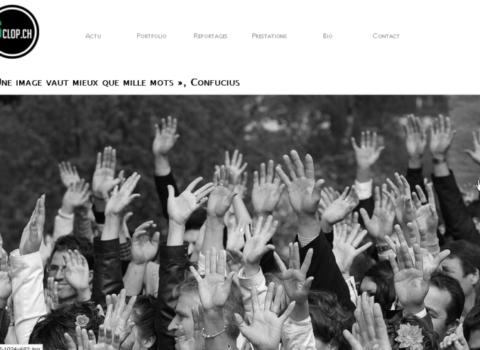 6clop.ch - site web sous Wordpress mis en place par eTisse.ch