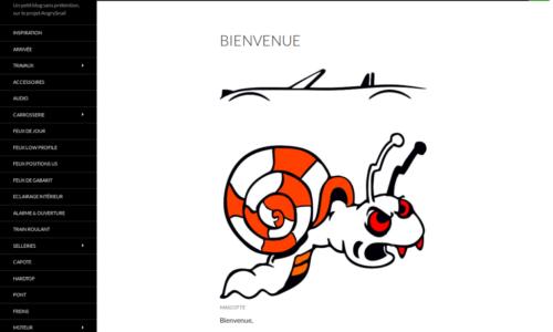 Angry Snail - Migration de site web - etisse - Genève