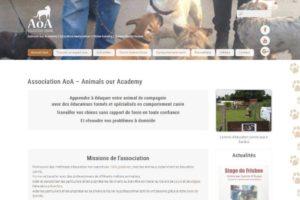 AoA - site web sous Wordpress mis en place par eTisse.ch