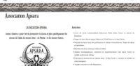 Association Apsara - site web sous Wordpress mis en place par eTisse.ch