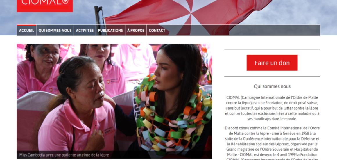 CIOMAL - Prestations site Internet - etisse.ch, Genève