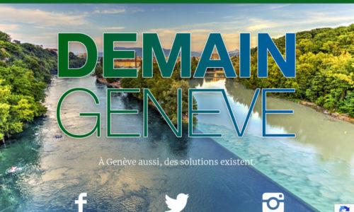 Demain-Geneve - développement de plugin WordPress sur mesure - etisse.ch, Genève