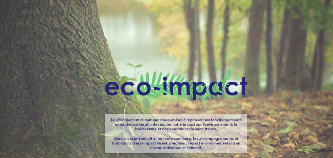 Eco-Impact - mise en place d'un site internet WordPress, etisse.ch - Genève