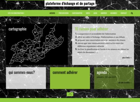 Le réseau culturel de Genève – plateforme déchange et de partage