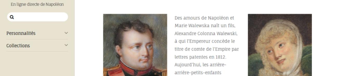 Patrimoine Charles-André COLONNA WALEWSKI - site web sous Wordpress mis en place par eTisse.ch