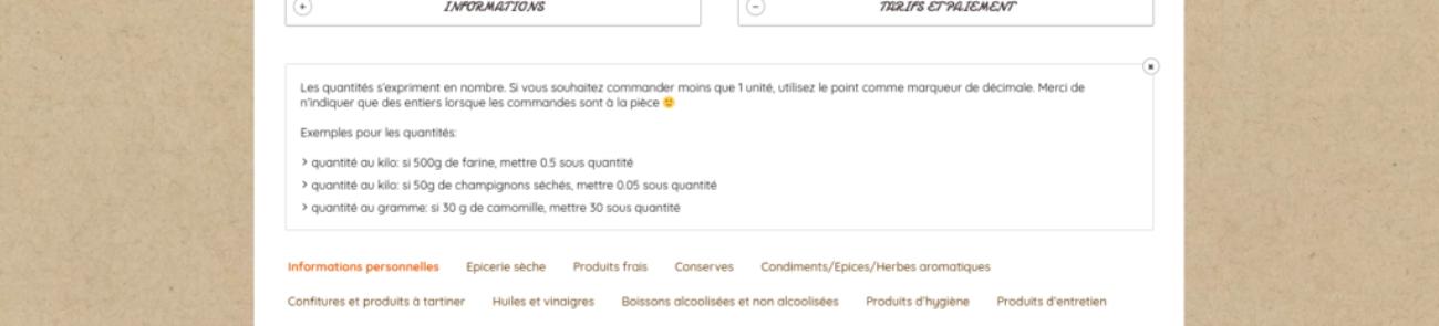 Mise en place d'un formulaire de commande · prestation pour votre site Internet, etisse.ch, Genève