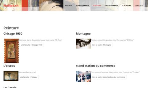 Interventions sur un site Internet Joomla · etisse.ch, Genève