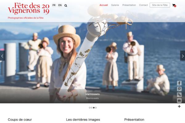 Photographies de la Fête des Vignerons par les photographes officiels - Site web mis en place par etisse.ch, webmaster à Genève