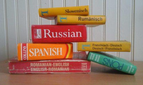 Dictionnaires - illustration de la traduction d'un site WordPress avec Polylang et Gtranslate en parallèle
