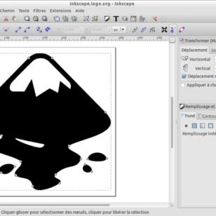 Présentation d'Inkscape, logiciel libre de dessin vectoriel