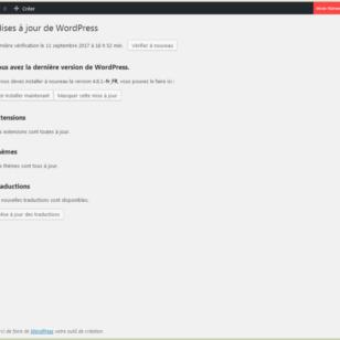 Abonnement de mises à jour de Wordpress - etisse.ch