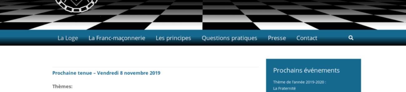 Union & Harmonie - client site Internet etisse.ch, Genève